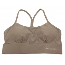 Columbia Women's Cross Back Bra - Low Support 1 Pack, Columbia Grey, X-Large