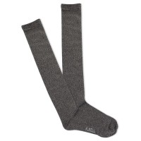 K.Bell Women's Marl Knee High Socks 1 Pair, Oxford Grey Marl, Women's 4-10 Shoe