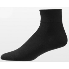 Aetrex Copper Sole Socks, Womens Dress/Casual, Ankle, Black