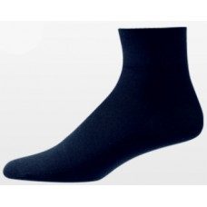 Aetrex Copper Sole Socks, Womens Dress/Casual, Ankle, Navy