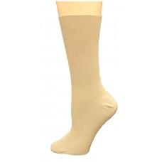 Carolina Ultimate Diabetic Non Binding Quarter Socks 2 Pair, Khaki, Women's 6-9