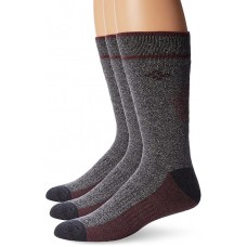 Columbia Cotton Crew - Arch/Ankle Support, Mesh Vent, 3 Pair, M10-13,  Charcoal