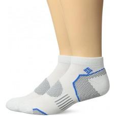 Columbia Balance Point Sport - Low Cut Socks, White, M 10-13, 2 Pair