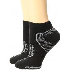Columbia Balance Point Sport Low Cut Sock 3 Pair, W9-11, Black