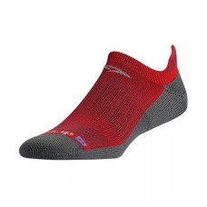 Drymax Running No Show Tab,  Torrid Red/Anthracite