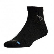 Drymax Run 1/4 Crew Socks Black