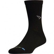 Drymax Run Crew Socks Black
