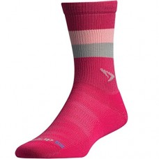 Drymax Running Lite-Mesh Crew,  October Pink/Lt. Pink/Grey