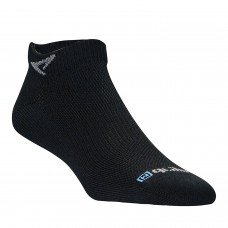 Drymax Run Thin Mini Crew Sock - Black