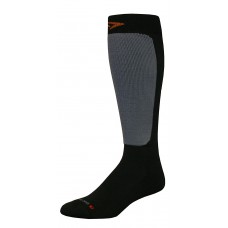 Drymax Skiing Lite Weight Over Calf Socks,  Black/Grey