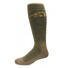 Ducks Unlimited Tall Outdoor Boot Socks, 1 Pair, Olive, X-Large, M 12-16