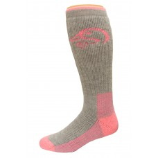 Ducks Unlimited Ladies Comfy House Socks, 1 Pair, Grey, Medium, W 6-9 / M 4-9