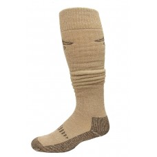 Ducks Unlimited Merino Wader Socks, 1 Pair, Brown, Large, W 9-12 / M 9-13