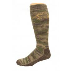 Ducks Unlimited Camo Tall Boot Socks, 1 Pair, Camo, Medium, W 6-9 / M 4-9