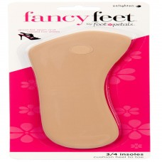 Fancy Feet 3/4 Insoles, 1 Pair, Khaki