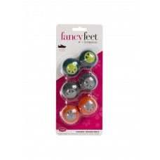 Fancy Feet Sneaker Deodorizers, 6 Pack, Neutral