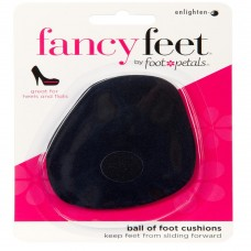 Fancy Feet Ball of Foot Cushions, 1 Pair, Black