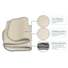 FootGalaxy Premium Professional Shine Cloth, 20 Inch x 5 Inch