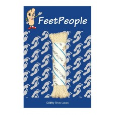 FeetPeople Brogue Casual Dress Laces, Light Sand