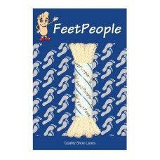 FeetPeople Brogue Casual Dress Laces, Light Tan