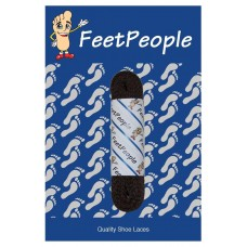 FeetPeople Flat Dress Laces, Brown