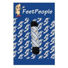 FeetPeople Round Dress Laces, Black