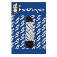 FeetPeople Round Dress Laces, Brown