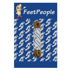 FeetPeople Round Dress Laces, Mocha