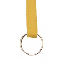 FeetPeople Flat Key Chain, Gold