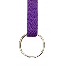 FeetPeople Flat Key Chain, Purple