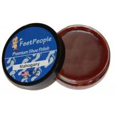 FeetPeople Premium Shoe Polish, 1.625 Oz., Mahogany