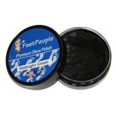 FeetPeople Premium Shoe Polish, 1.625 Oz., Midnight Green