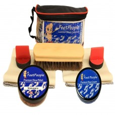 FeetPeople Premium Conditioning Kit with Travel Bag, Mahogany