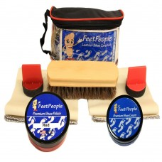 FeetPeople Premium Conditioning Kit with Travel Bag, Red