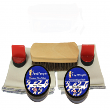 FeetPeople Premium Leather Care Refill Kit, Navy