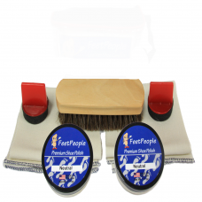FeetPeople Premium Leather Care Refill Kit, Neutral