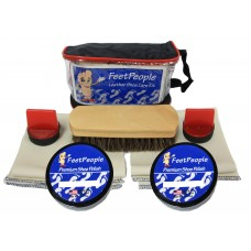FeetPeople Premium Leather Care Kit with Travel Bag