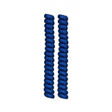 FootGalaxy Twister Curly Laces, Royal
