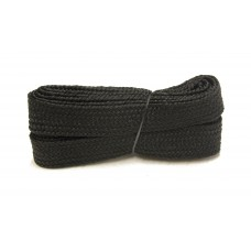FeetPeople High Quality Fat Laces For Boots And Shoes, Black