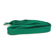 FeetPeople High Quality Fat Laces For Boots And Shoes, Kelly Green