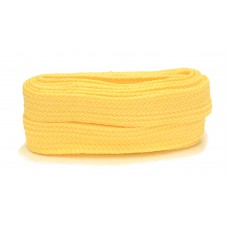 FootGalaxy High Quality Fat Laces For Boots And Shoes, Yellow