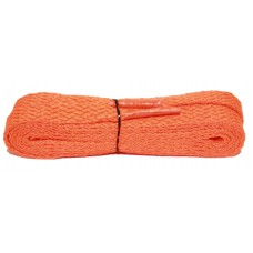FootGalaxy High Quality Flat Laces For Boots And Shoes, Neon Orange