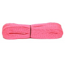 FootGalaxy High Quality Flat Laces For Boots And Shoes, Neon-Pink