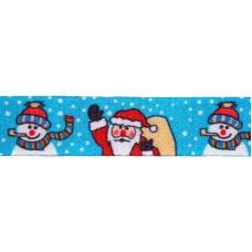"""FootGalaxy 45"""" Santa and Snowman Christmas Printed Shoe Laces"""