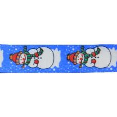 "FootGalaxy 45"" Christmas Snowman Printed Shoe Laces"