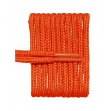 FootGalaxy High Quality Round Laces For Boots And Shoes, Burnt Orange