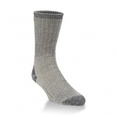Hiwassee Heavy Outdoor Crew Socks 1 Pair, Charcoal, Large
