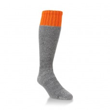 Hiwassee Heavy Hunting OTC Socks 1 Pair, Blaze Orange, Large