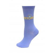 HotSox Feyonce Socks, Periwinkle, 1 Pair, Women Shoe 4-10