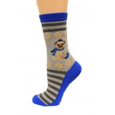 Hot Socks Hannukah Pug Non Skid Women's Socks 1 Pair, Sweatshirt Grey, Women's Shoe Size 9-11
